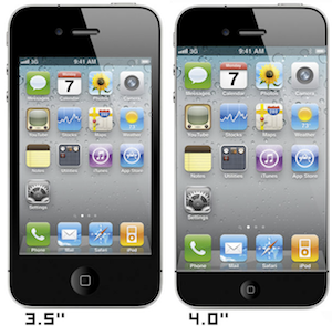 iPhone 4 inch