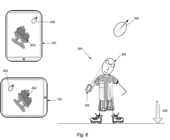 Patent Apple gezichtsherkenning