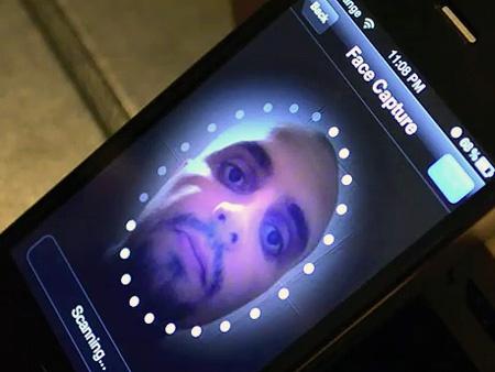 iPhone gezichtsherkenning