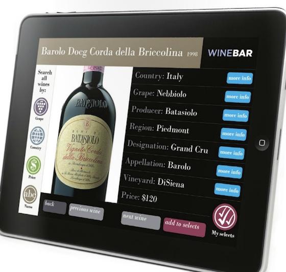 smartcellar wijnkaart