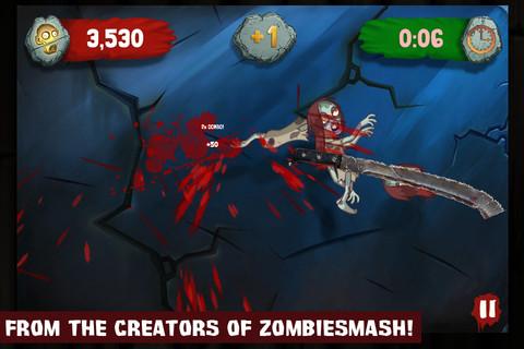 GU DO Zombie Swipeout iPhone iPod touch