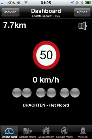 Flitsers Nederland dashboard