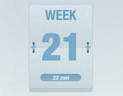 Welke Week iPhone-app toont weeknummer