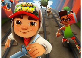 GU DI Subway Surfers iPhone iPod touch