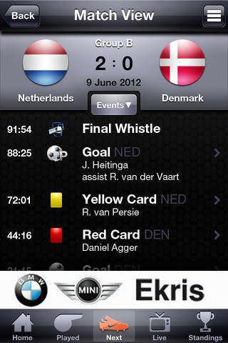 Euro2012 by Heitinga livestand