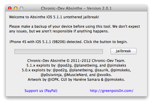 Absinthe 2.0.1