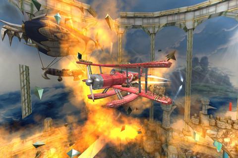 GU VR Air Mail vuur en vlam iPhone iPod touch