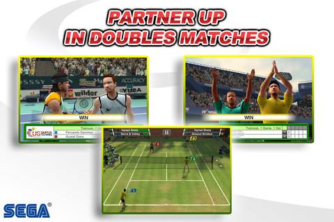 GU DO Virtua Tennis Challenge iPhone iPod touch