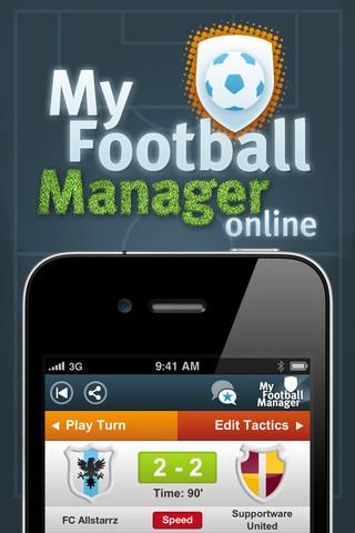 My Football Manager Online header