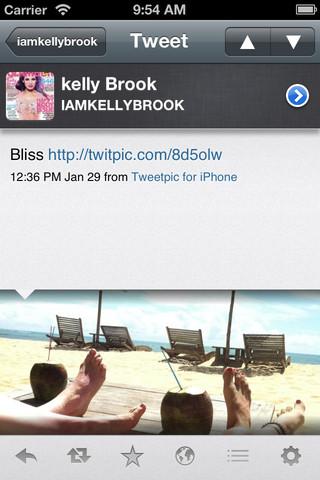 Tweetings for Twitter tweet met foto