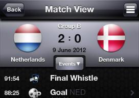 EK 2012 iPhone Apps Euro2012 By Heitinga