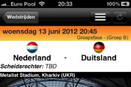 EK 2012 iPhone-apps EK-2012 Pro