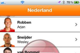 EK 2012 iPhone-apps EK 2012 - Oranje
