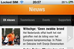EK 2012 iPhone-apps OnsOranje