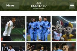 EK 2012 iPhone-apps Official Uefa Euro 2012 App