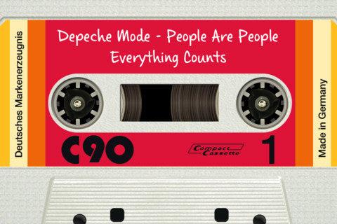 DeliTape cassettebandje voor de iPhone header