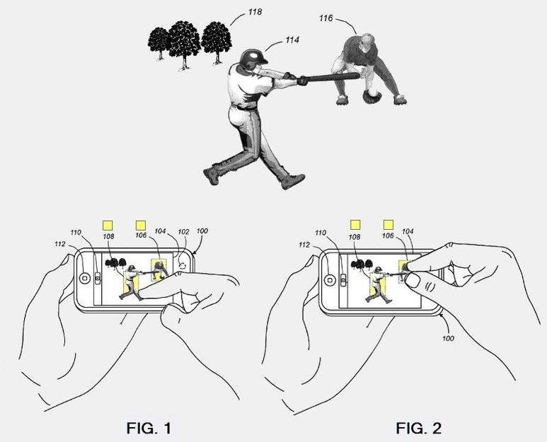 Patent camera focus
