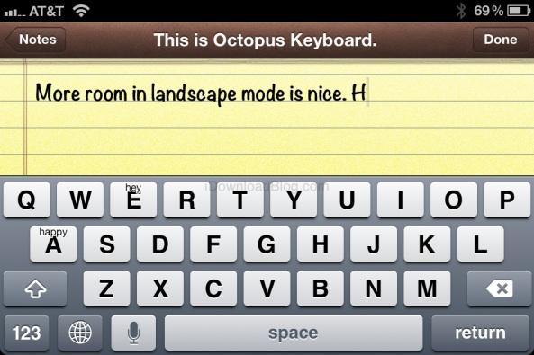 Octopus Keyboard