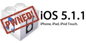 Jailbreak mogelijk op iOS 5.1.1