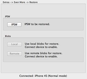 redsn0w 0.9.11b1: restore even more