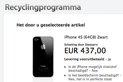 Recyclingprogramma Apple
