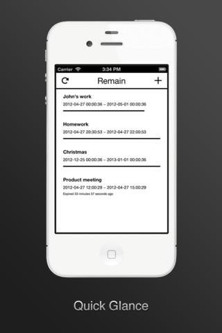 Remain iPhoneclub to-do lijst zonder functies