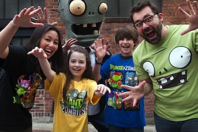 Plants vs. Zombies t-shirts