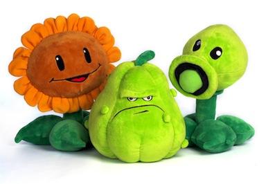 Plants vs. Zombies knuffels