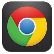 google chrome icoon