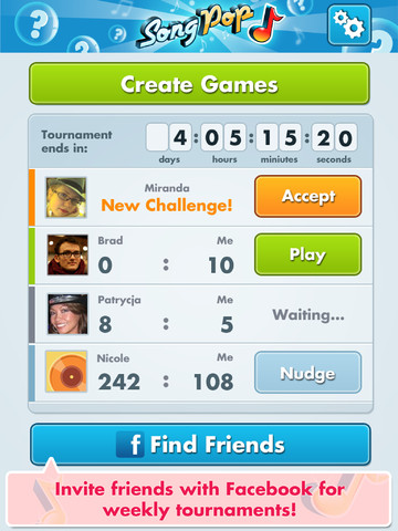 Song Pop speloverzicht