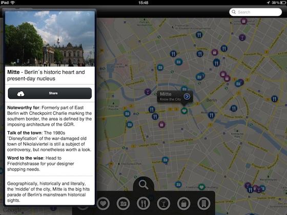 GuidePal kaart