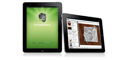 Evernote iPad