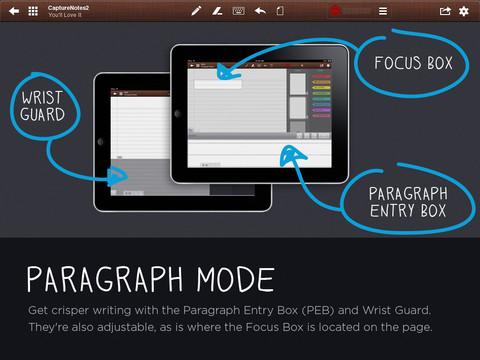 CaptureNotes 2 iPad bewerken