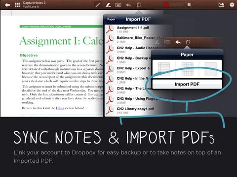 CaptureNotes 2 PDF bewerken