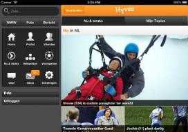 Hyves iPad vernieuwd header