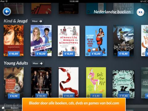 Blits voor bol.com boeken