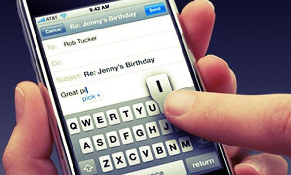 iPhone autocorrectie