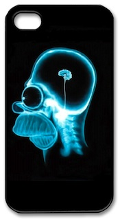 homer simpsons brain