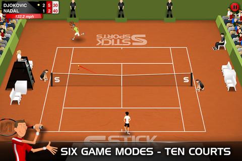 GU DI Stick Tennis iPhone