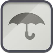 WTHR iPhone-app weer met design