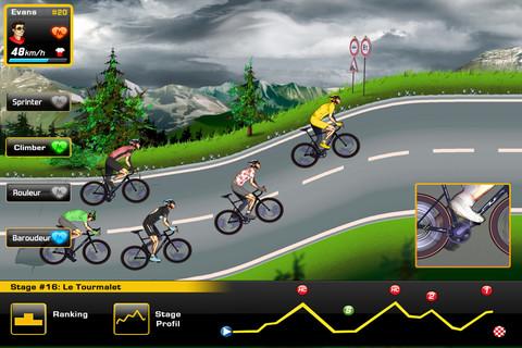 Tour de France 2012 iPhone game