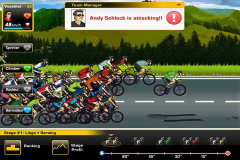 Tour de France 2012 Andy Shleck er vandoor