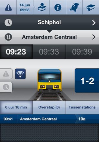 Infomaps Railway NL treininformatie