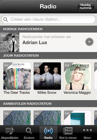 Spotify nieuwe radiofunctie