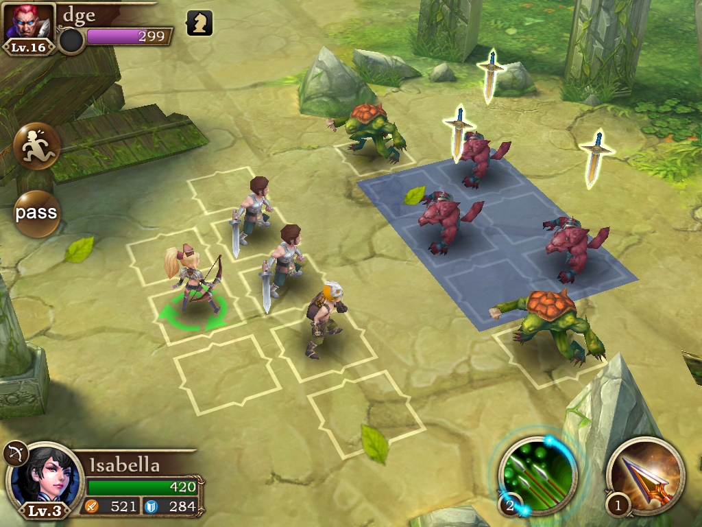 GU DI Realm of Swords header iPhone