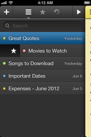 Just Type handige bediening notities iPhone