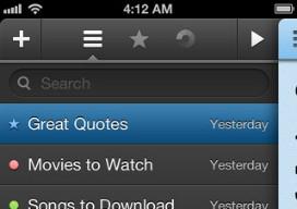Just Type notitie-app iPhone header