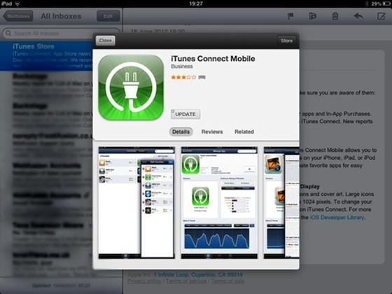 iPad app store preview