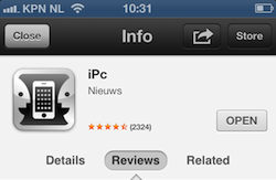 App Store preview iOS 6