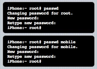 Standaard wachtwoorden wijzigen